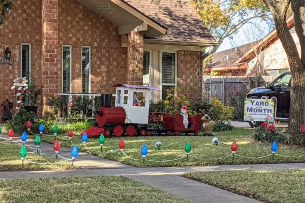 December 2020 – Yard of the Month Winner!